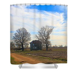 Hwy 8 Old House 2 Shower Curtain