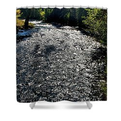 Hyalite Creek  Shower Curtain