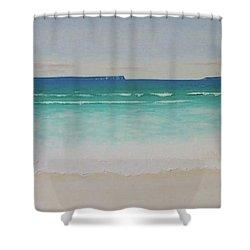 Hyams Beach Shower Curtain