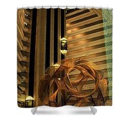 Hyatt Regency Sf Atrium Shower Curtain