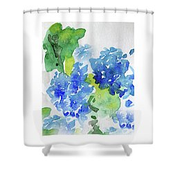 Hydranga Shower Curtain