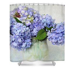 Hydrangea 1 Shower Curtain