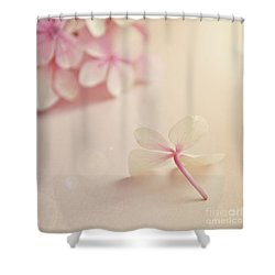 Shower Curtain featuring the photograph Hydrangea Flower by Lyn Randle