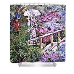 Hydrangea In The Formosa Gardens Shower Curtain