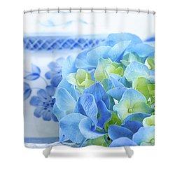 Hydrangea Memories Shower Curtain
