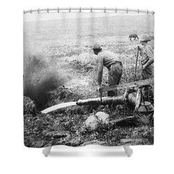 Hydraulic Gold Mining C. 1889 - S. Dakota Shower Curtain by Daniel Hagerman