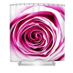 Hypnotic Pink Shower Curtain