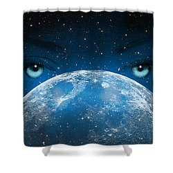 Hypnotic Shower Curtain