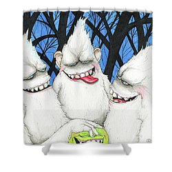 Hysterically Funny Shower Curtain