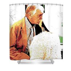 I Always Knew Shower Curtain by Jesse Ciazza
