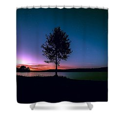 Shower Curtain featuring the photograph I Am For You by Rose-Maries Pictures