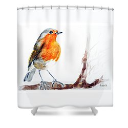 I Am Happy Shower Curtain
