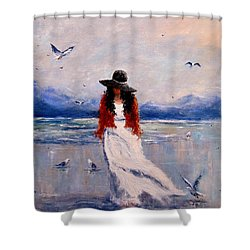 I Am Just A Dreamer.. Shower Curtain by Cristina Mihailescu