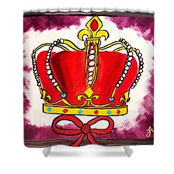 I Am King  Shower Curtain