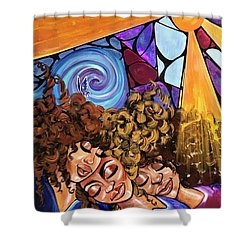 I Am My Sisters Keeper Shower Curtain