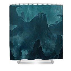 I Am Providence Shower Curtain by Guillem H Pongiluppi
