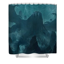 I Am Providence Shower Curtain