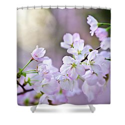 I Am Renewed  Shower Curtain by Jamie Starling