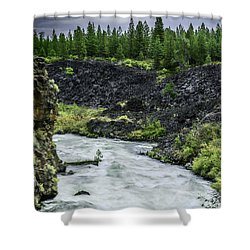 I Am River Hear Me Roar Shower Curtain