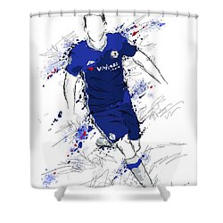 I Am Royal Blue Shower Curtain