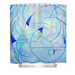 I  Am Sailing Shower Curtain
