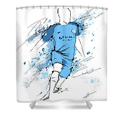 I Am Sky Blue #2 Shower Curtain