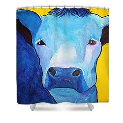 I Am So Blue Shower Curtain