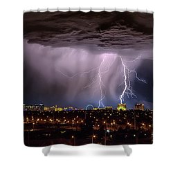 Shower Curtain featuring the photograph I Am So Glad We Had This Time Together by Michael Rogers