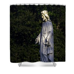 I Am The Light Shower Curtain by Ken Frischkorn