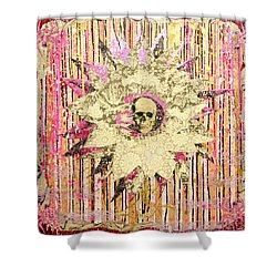 I Am The Petal You Forgot To Pick And I Love You Not Shower Curtain by Bobby Zeik