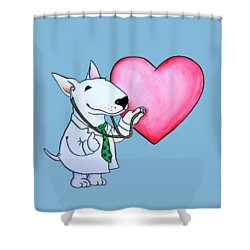 I Am Your Dogtor Shower Curtain