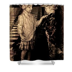 I Approve Shower Curtain by Al Bourassa