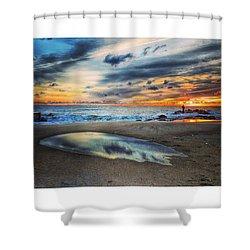 Dali Cloud Shower Curtain
