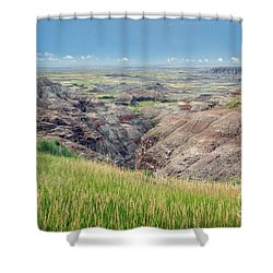 I Can See For Miles Shower Curtain
