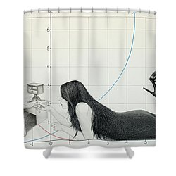 I Cannot Be Less Than Who I Am Shower Curtain