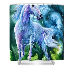 I Dream Of Unicorns Shower Curtain by Sherry Shipley