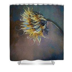 I Feel Like A Sunflower Painting Shower Curtain