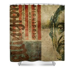 I Got It Bad , And That Ain't Good Shower Curtain by Paul Lovering