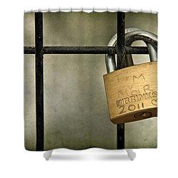 I Got You Babe Shower Curtain by Evelina Kremsdorf