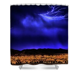 Shower Curtain featuring the photograph I Got You Babe by Michael Rogers