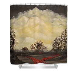 I Had A Dream Shower Curtain by John Stuart Webbstock