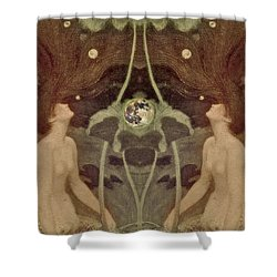 I Have Heard The Mermaids Singing Shower Curtain