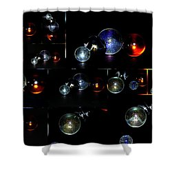 ...i Have Lost My Marbles Shower Curtain by Martina Fagan