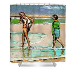 I Hope The Sun Comes Out Shower Curtain by Stan Esson