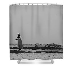 I Know Every Grain  Shower Curtain by Jez C Self