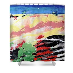 I Know You're Out There Somewhere Shower Curtain