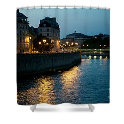 I Love Paris Shower Curtain