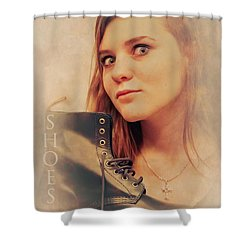 I Love Shoes Shower Curtain by Loriental Photography