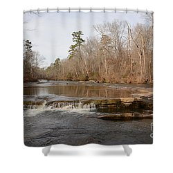 I Love To Go A Wanderin' Yellow River Park -georgia Shower Curtain