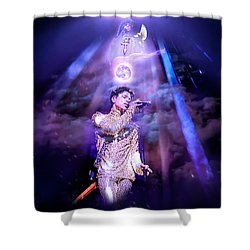 I Love You - Prince Shower Curtain